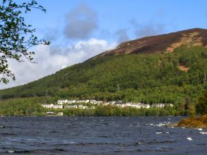 Exterior view of Loch Rannoch Hotel.