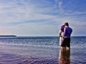 Romantic Beach at Pictou Lodge Resort