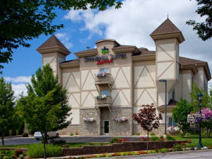 Exterior view of SpringHill Suites Frankenmuth.