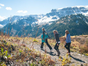 Hiking at Chipeta Solar Springs Resort