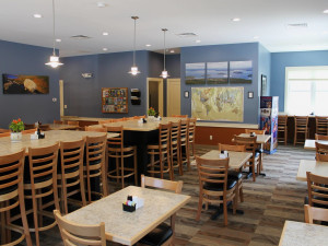 Dining room at Best Western Acadia Park Inn.