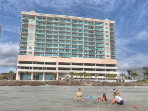 Rental exterior at North Beach Realty.
