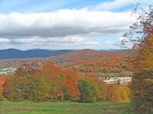 Fall foliage at Birch Ridge Inn.