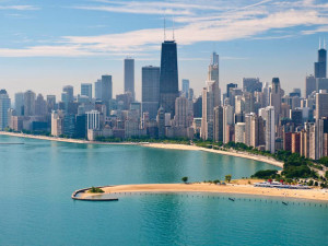 View from Ritz-Carlton - Chicago.