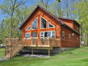 Cottage View at Janetski's Big Chetac Resort