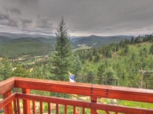 Mountain view at SkyRun Vacation Rentals - Nederland, Colorado.