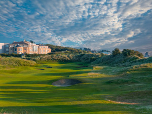 Exterior view of Portmarnock Hotel and Golf Links.