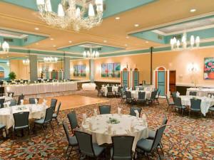 Wedding reception at Ocean Reef Resort.
