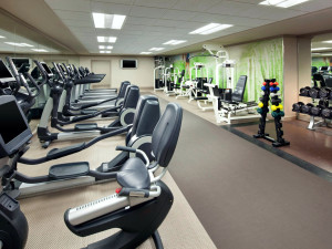 Fitness room at The Westin Lake Las Vegas Resort & Spa.