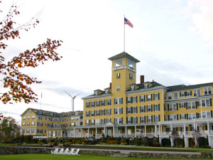 Exterior of Mountain View Grand Resort.