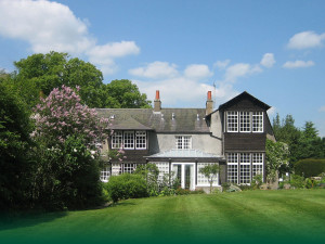 Exterior view of Skirling House.