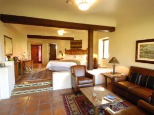 Hacienda King Suite at Tubac Golf Resort.
