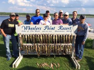 Fishing at Wheelers Point Resort.