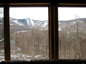 Mountain view at Highridge Condominiums.