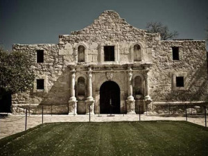 The Alamo near Best Western Ingram Park Hotel.