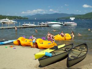 Resort activities at Marine Village Resort.