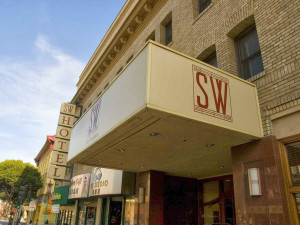Exterior view of SW Hotel.