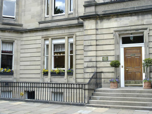 Exterior view of The Edinburgh Residence.