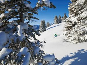 Skiing at Antlers At Vail.