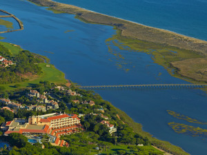 Aerial view of Hotel Quinta do Lago.