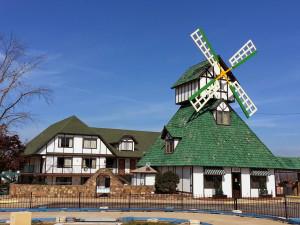 Exterior view of Branson Windmill Inn.