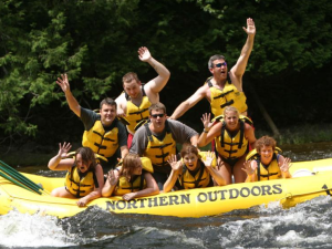 Water activities at Northern Outdoors.