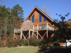 Cabin exterior at Paradise Hills Resort and Spa.