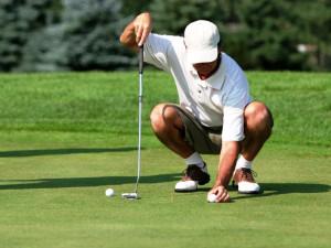 Golfing at Kavanaugh's Sylvan Lake Resort.