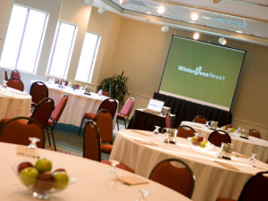 Meeting event at Wintergreen Resort.