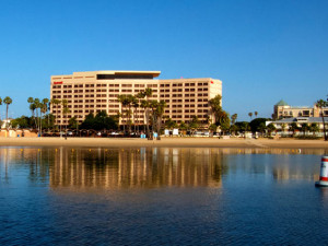Exterior view of Marina del Rey Marriott.
