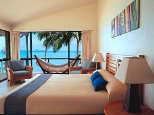 Guest room at Brampton Island.