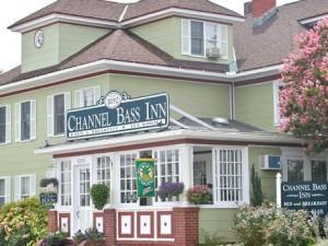Inn view at Channel Bass Inn.