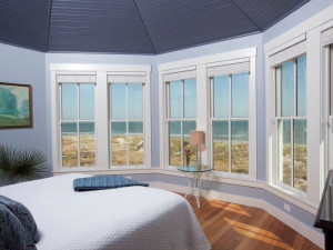 Bedroom at Bald Head Island.