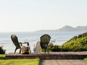 Relaxing at Hallmark Resort in Newport.
