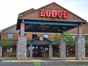Exterior view of LCO Casino, Lodge & Convention Center.