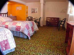Guest room at Soda Bay Inn.