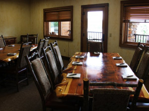 Meeting room at Stonewater Cove Resort.