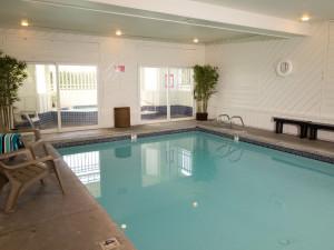 Indoor pool at The Wayside Inn.
