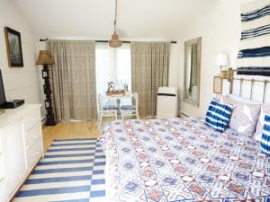 Guest room at Crow's Nest Inn & Restaurant.