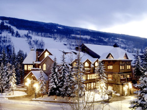 Winter time at Vail Mountain Lodge & Spa.