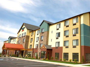 Exterior of the TownePlace Suites Scranton Wilkes-Barre