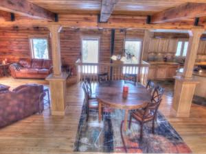 Vacation rental interior at SkyRun Vacation Rentals - Nederland, Colorado.
