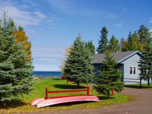 Cabins at Mountain View Lodges.
