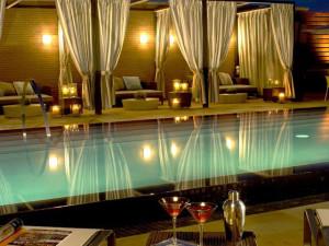 Outdoor pool at Hotel Palomar Dallas - a Kimpton Hotel.