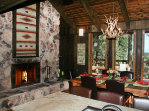 Great room at Resort Properties of Angel Fire.