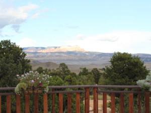 Beautiful view at Stone Canyon Inn.