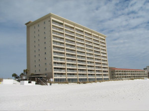 Exterior view of Destin Gulfgate Condominiums.