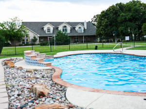 Outdoor pool at MD Resort Bed & Breakfast.