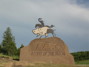 Tatonka -Story of the Bison near Deadwood Connections.