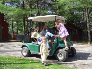 Family fun at Birchcliff Resort.